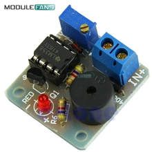 12V New Accumulator Sound Light Alarm Buzzer Prevent Over Discharge Controller Module