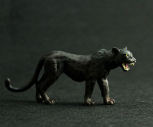 PVC Animals World Black Panther Static Model Plastic Action Figures Toys Gift for Kids Anime Games Birthday Gifts