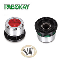 2 pieces X For SSANGYONG Korando II Musso SUV Rexton TD Musso Pick Up Free Wheel Bearing Locking Hubs B035HP AVM450HP(China)