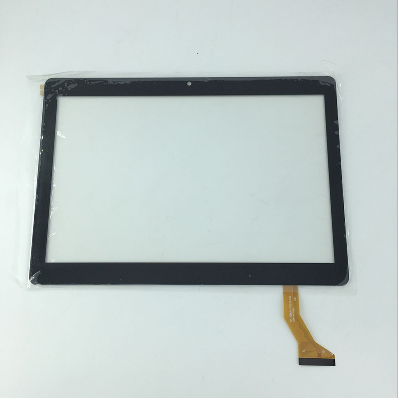 New 10.1 inch front Touch screen panel digitizer outer glass sensor replacement parts for BDF Tab CH-1096A1-FPC276-V02