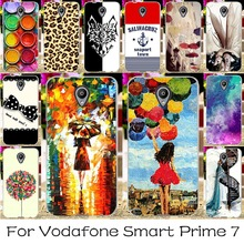 Soft TPU Silicone Mobile Phone Case For Vodafone Smart Prime 7 Prime7 VF600 5.0inch Cover Angel Girls Case Shell Housing