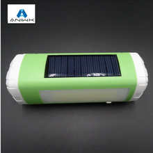 Outdoor Solar Bluetooth Speaker Wireless Portable Speaker With LED Flashlight TF Card FM enceinte bluetooth USB Mini altavoz