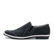 Hot ! Men Casual Shoes 2017 Latest Designer Vintage Men's Slip-on Flat Shoes Male Moccasins Free Shipping Eur Size 40-45