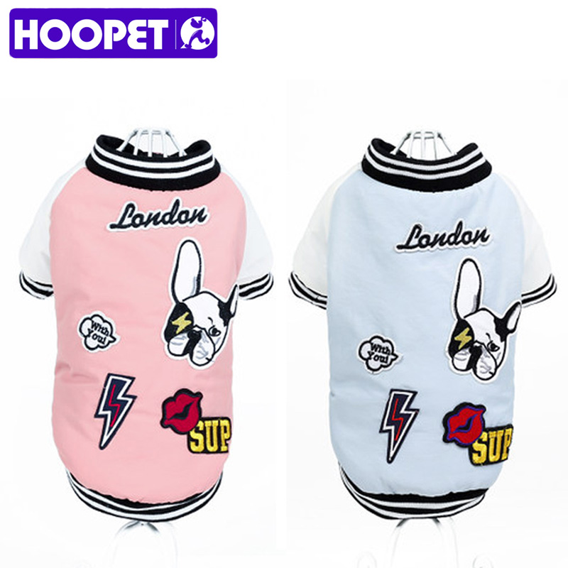 HOOPET Pet Clothes Baseball Clothing Summer Teddy Bottoming Shirt Pet Spring for Dog Cat(China)