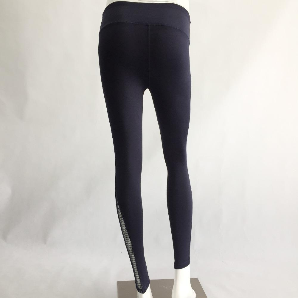 New Women Push-up Sporting Leggings Black Fashion Net Hollow Elastic Skinny Fitness Leggings Sporting Clothing For Women 25