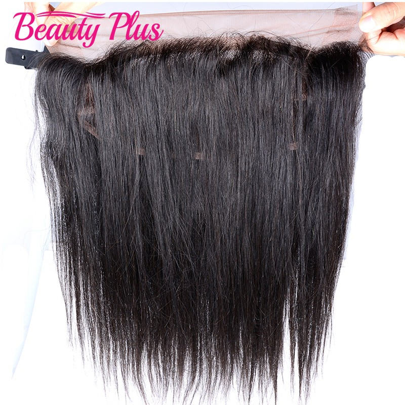 360 Lace Band Frontal Closure With Adjustable Straps Peruvian Virgin Hair Straight Natural Hairline With Baby Hair Pre Plucked<br><br>Aliexpress