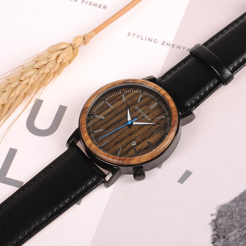 wooden watches  mens bobo bird luxury brand watches for men gifts (22)