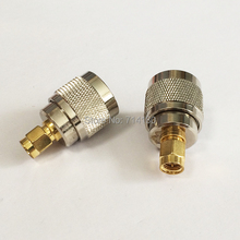 New RF UHF Connector Adapter UHF Male PL259 Switch SMA Male Straight  Wholesale More Favorable