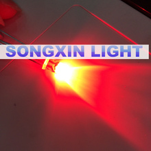 Red Colour New 500 PCS 3mm Round LED Bright Light-Emitting Diodes Component Set 620-625NM 2.0-2.4V F3 I=20MA