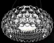 New FOSCARINI Style Caboche Acrylic Ball Pendant Lamp + free shipping modern chandelier Dia 50m*100cm,G9 source
