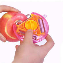 Triad Multifunctional rotary peeler. Fruits for Slicing Vegetables Slack Knife.Kitchen Canteen Instruments Slicer Cooking Tools