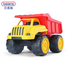 Beiens  Large Size Bulldozer Model Excavator Construction Vehicle Loading Unloading Truck Beach Tools Set Sand Playing