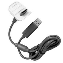 2 in1 USB Charger Cable for Microsoft Xbox 360 Wireless Controller PC Accessories