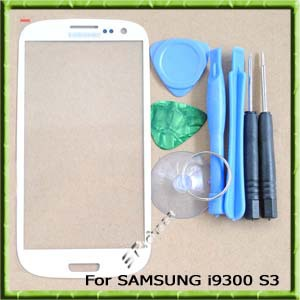 New Original Replacement Screen Glass Lens for Samsung Galaxy S3 i9300 SIII  White +Tools+Adhesive+Free Shipping<br><br>Aliexpress