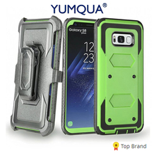 YUMQUA Mobile Phone Case For Samsung Galaxy J3 2017 Cover Back Bag For Samsung S8 S8 Plus / S7 / J3 2016 / J3 Emerge Sports Case