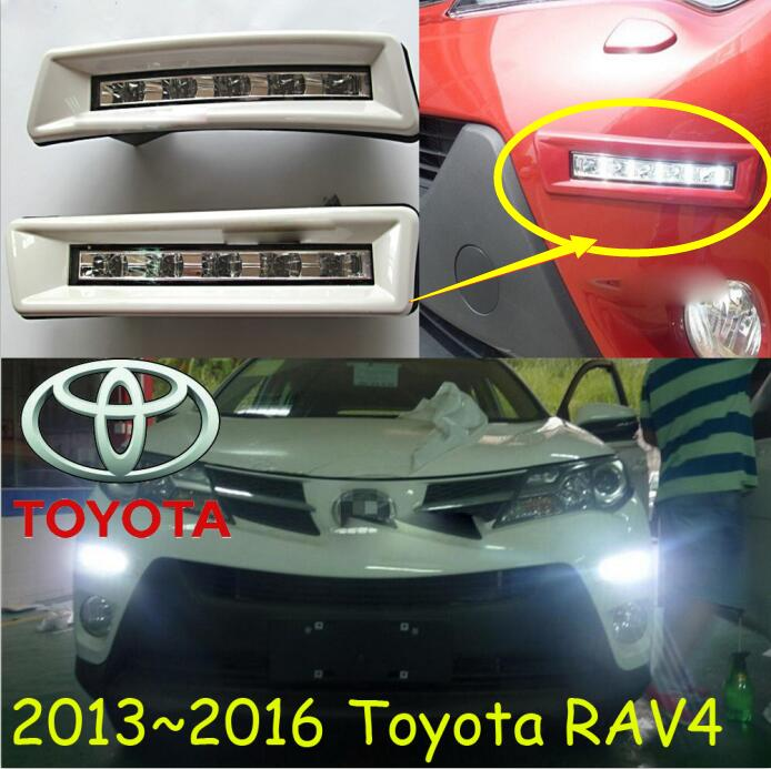car-styling,2009~2012/2013~2015 RAV4 daytime light,led,Free ship!2pcs/set,RAV4 fog light;car-covers,RAV4,RAV 4<br>