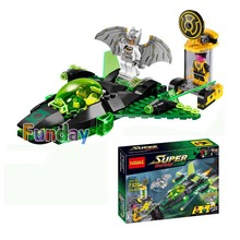 DC Super Heroes Green Lantern VS Sinestro Building Blocks Bricks Model Toy Decool 7109 Compatible With Lepin