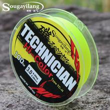 Sougayilang 100M Fluorocarbon Fishing Line Japan 13-43LB 0.2-0.5mm Strong Boat Fly Rock Floating Line Wire Fishing Tackle(China)