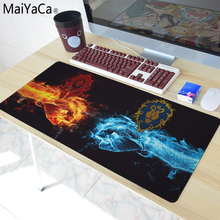 MaiYaCa 2018 HOT Mouse Pad pad Overlock Edge and Not Overlock Edge Big Gaming mouse Pad Send BoyFriend the Best Gift(China)