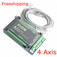 NVEM CNC Controller 200KHZ Ethernet MACH3 Motion Control Card for Stepper Motor 4-Axis