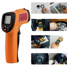 GM300E Digital Infrared Thermometer Non-contact LCD IR Laser Temperature Tester Gun Wholesale(China)