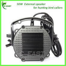 50W 150dB,6 ohms hunting bird caller speaker external bird caller speaker for hunting bird mp3 player duck goose quail decoy(China)