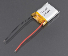 3pcs/lot 3.7v 240mAh LiPo Battery SH 6020 Mini 3CH Helicopter