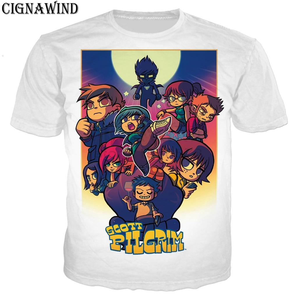 Scott Pilgrim vs the World Movie ROCKIN GUITAR Women/'s T-Shirt All Sizes
