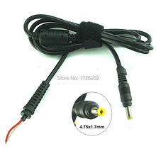 laptop adapter Charger Cable DC Cord with plug for HP compaq 4.75x1.7mm