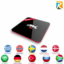 Arabic Royal IPTV H96 Pro S912 Android 7.1 TV box LiveTV iptv french africa 5ky italy UK DE arabic Smart tv Box - GOTiT_EHome Store store