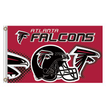 Atlanta Falcons Helmet Red Banner Flag Super Champions World Series Football Team 3ft X 5ft Helmet Atlanta Falcons Flag(China)