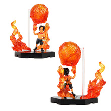 ONE PIECE Attack Styling Flaming Three Brothers Ace ACTION FIGURE NEW