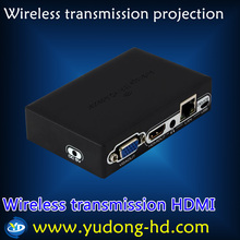 1080P wifi turn hdmi.VGA.lan. Wireless transmission to the TV / projector ,Support Android,Windows,iOS System HD Media Adapters