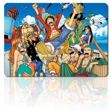 one piece mouse pad Straw hat pirates mousepad laptop anime 3d mouse pad gear notbook computer gaming mouse pad gamer play mats(China)