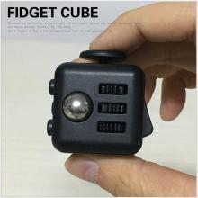 Big Size ! 3*3*3cm Magic Cube Toys Fidget Cube With Box Relieves Anxiety and Stress Juguet For Adults Fidgetcube Desk Spin Toys(China)