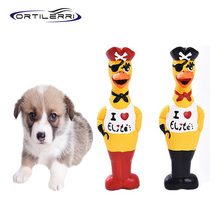 Ortilerri Pet Toy Pirate Chicken Dog Molar Toys Premium Quality Latex Sound Toys Funny Cat toys Teddy Puppies Pet Products