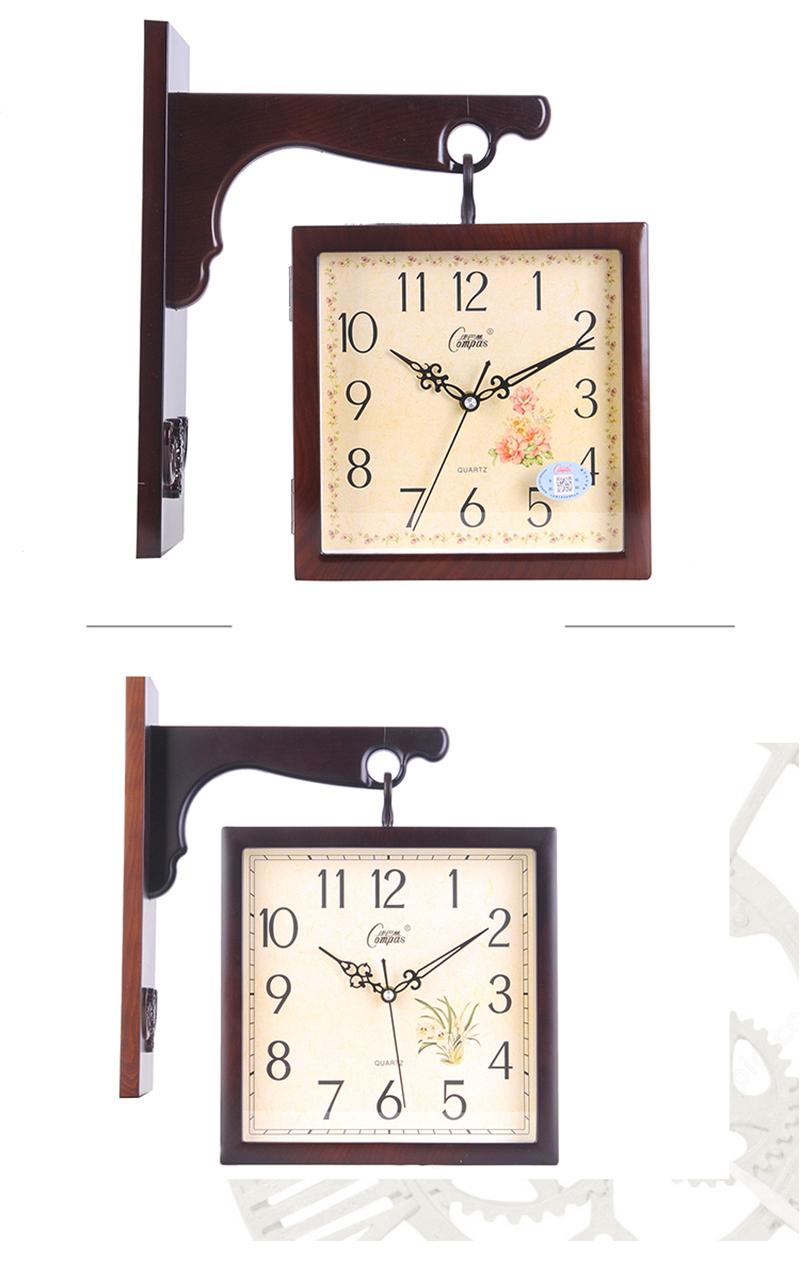 Wall Clock Wall Clock Wood Digital Wall Clock Led 3d Led Wall Clock Barber Shop Modern Clock Wood Clock Wall Diy Clock Watch (8)