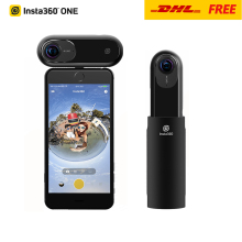 Spot Insta360 ONE 4K 360 VR Video Action Camera Sport Camera 24MP Bullet Time 6-Axis Gyroscope Support BT for iPhone Cam