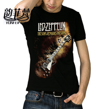 Many Patterns Heavy Metal Led Zeppelin AC DC Metallica The Beatles Nirvana Guns N' Roses Kiss Tee Rock Band T-shirt for men(China)