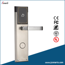 Sliver High Quality Electronic RFID IC Card Door Lock for hotel/apartments(China)