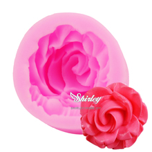 M069 Fantastic 3D Silicone Baking Fondant Cake Mold Rose Flower Decorating Tools Mould