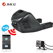 Jansite Car Dvr Wifi Car Camera Registrator Digital Video Mini Dash Cam Video Recorder Camcorder Full HD 1080P Dual Lens Dvr