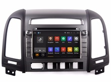 Android 7.1 Head Unit Car DVD Player for Hyundai Santa Fe 2006-2012 with GPS Navigation Radio BT USB WIFI Mirror Link 4Core+2G(China)