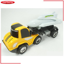 New Large Big Drag Head Alloy Car Trucks with portable Diecast Metal Alloy Car Modle Toys For Boys(China)