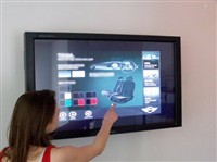 55 inch ir multi touch screen overlay kit,4 points infrared touchscreen
