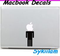 Headless Body Sticker for Apple MacBook Skin Air 11 13 Pro 13 15 17 Retina Creative Local Vinyl Hot Sale Decal Wall Car Laptop