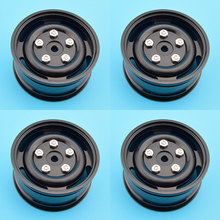 "Super Quality 4pcs 1/10 Alloy 1.9 Wheel Rim 1.9"" Full Metal Wheel Hub For RC4WD CC01 Truck ROCK CRAWLER  D90 Axial Scx10"