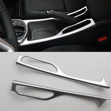 New Car Styling ABS Chrome Taiwan handbrake trim Interior Protective Decorative Accessories Cover For Honda CITY 2012-2015(China)