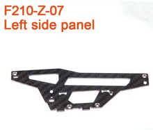 F17430 Walkera F210 RC Helicopter Quadcopter spare parts F210-Z-07 Left Side Panel Plate(China)