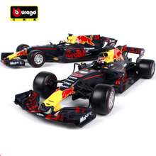 Maisto Bburago 1:18 2017 Red Bull Racing TAG Heuer RB13 F1 Formula One Racing Diecast Model Car Kids Toy New Box Free Shipping(China)